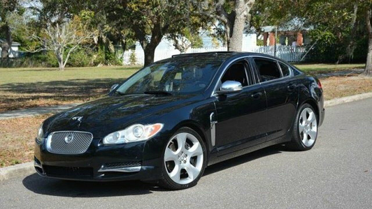 2009 jaguar xf supercharged for sale near clearwater florida 33755 classics on autotrader. Black Bedroom Furniture Sets. Home Design Ideas