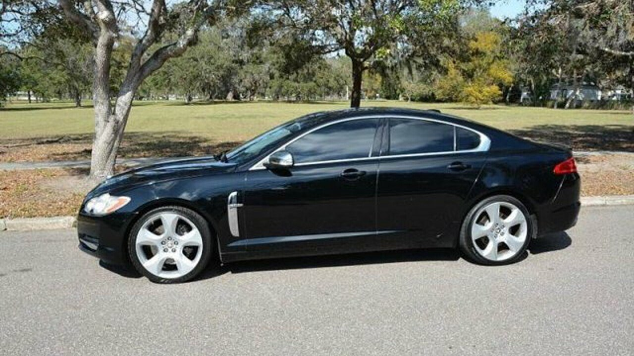 2009 jaguar xf supercharged for sale near clearwater. Black Bedroom Furniture Sets. Home Design Ideas