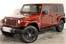 2009 Jeep Wrangler 4WD Unlimited Sahara for sale 100956332