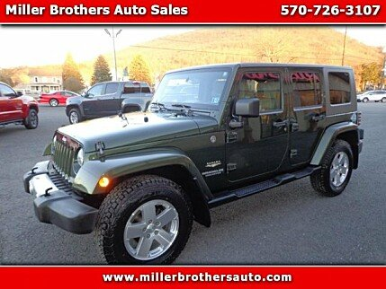 2009 Jeep Wrangler 4WD Unlimited Sahara for sale 100960235