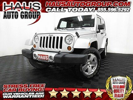 2009 Jeep Wrangler 4WD Sahara for sale 100971952