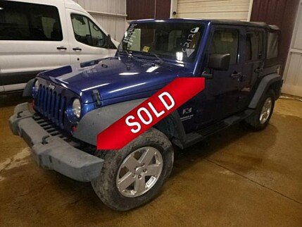 2009 Jeep Wrangler 4WD Unlimited X for sale 100982854