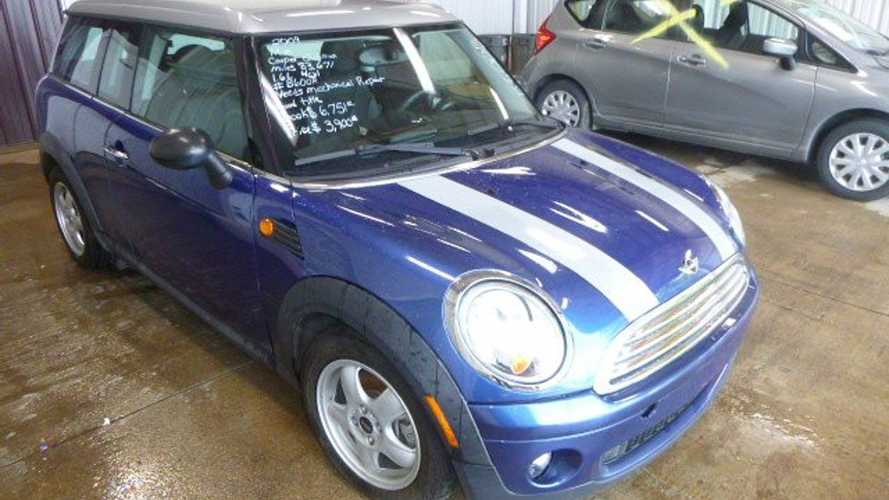 2009 MINI Cooper Clubman Hardtop for sale 100888936