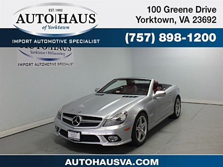 2009 Mercedes-Benz SL550 for sale 100924497