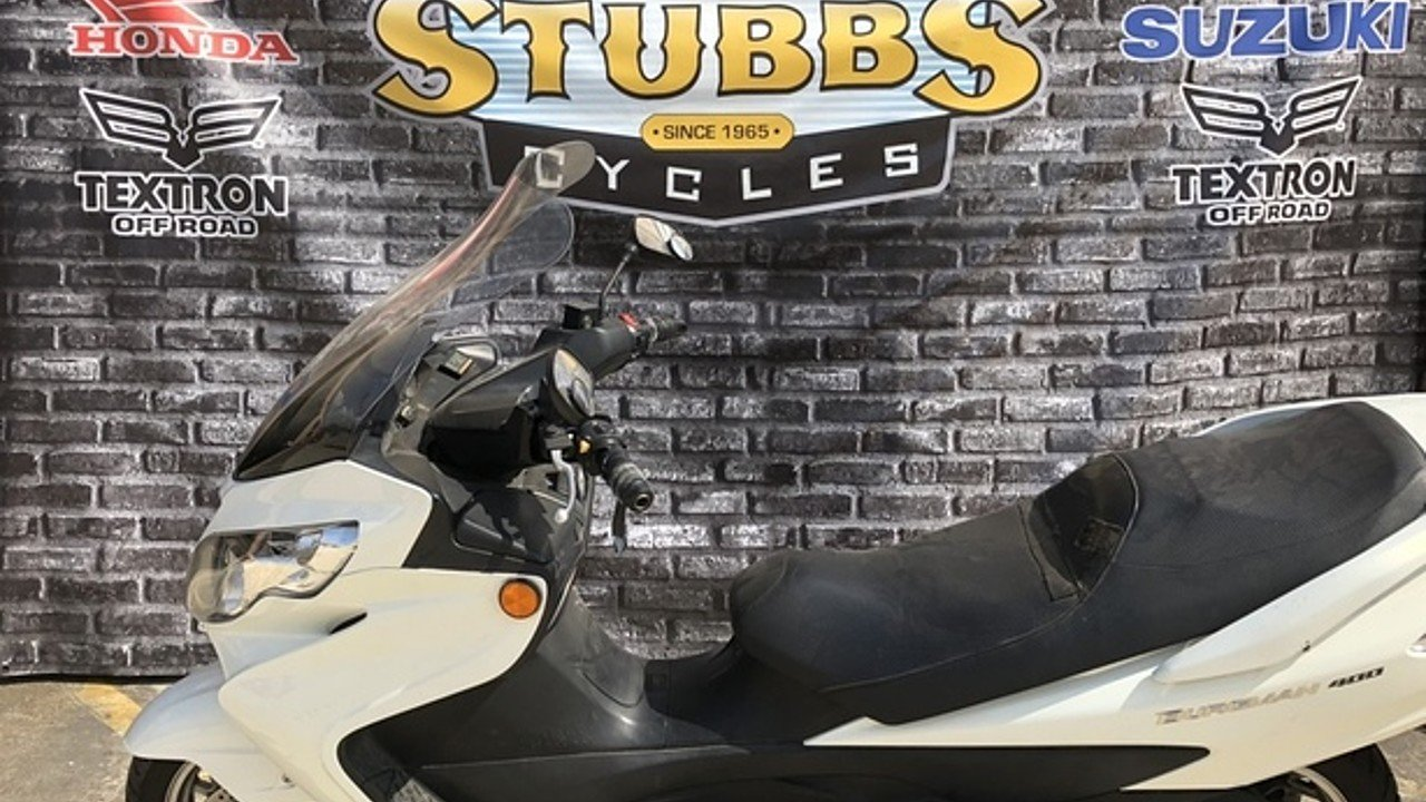 2009 Suzuki Burgman 400 for sale 200453353