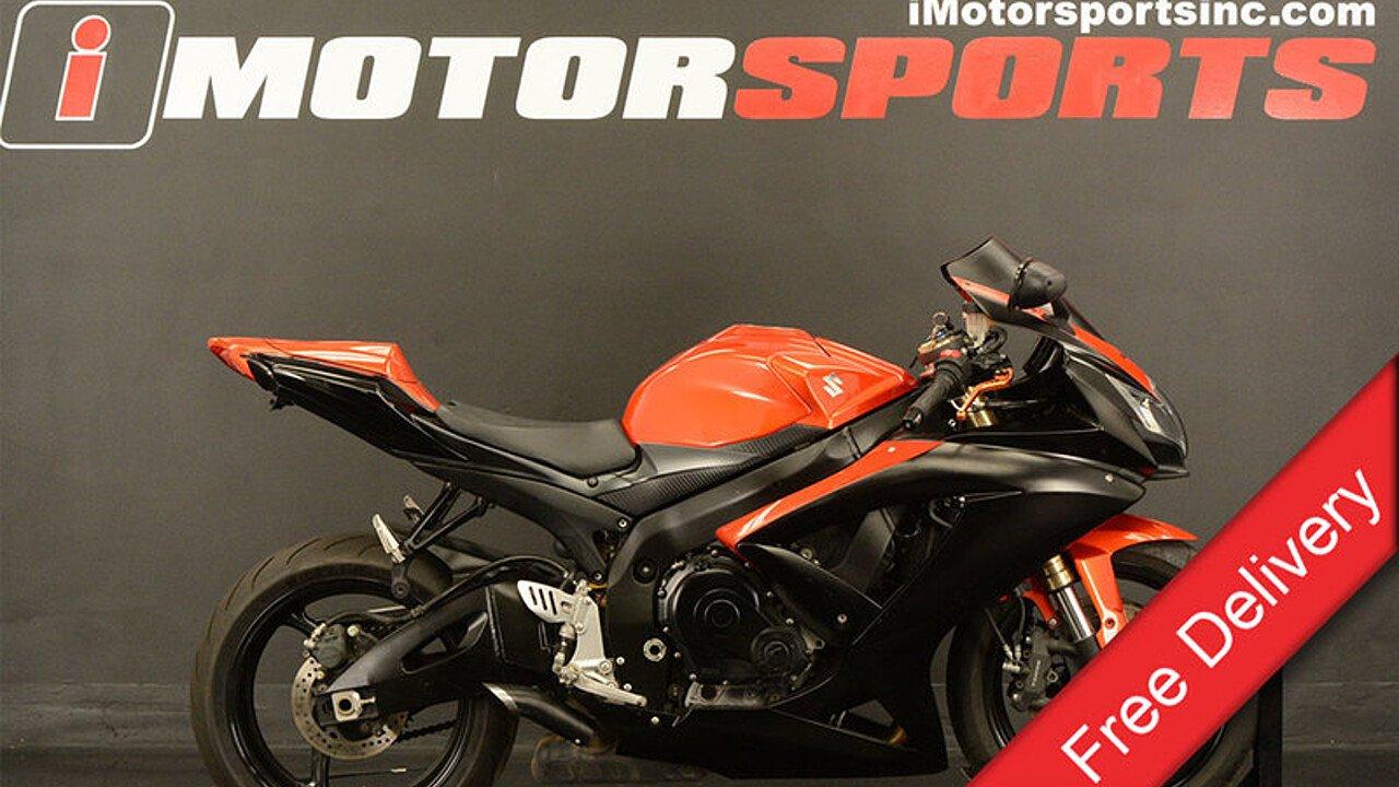 2009 Suzuki GSX-R600 for sale 200480286