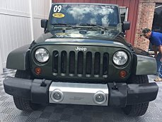 2009 jeep Wrangler 4WD Unlimited Sahara for sale 101010028
