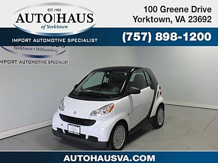 2009 smart fortwo Coupe for sale 100932007