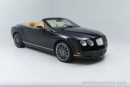 2010 Bentley Continental GTC Speed Convertible for sale 100840783