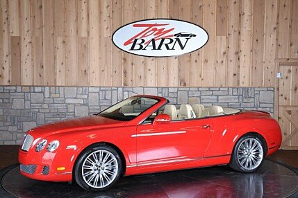 2010 Bentley Continental GTC Speed Convertible for sale 100860516