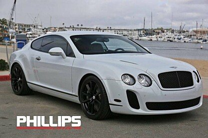 2010 Bentley Continental Supersports Coupe for sale 100952593