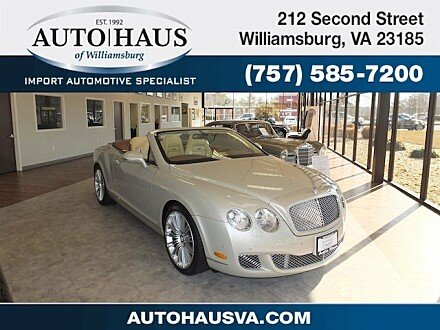 2010 Bentley Continental GTC Speed Convertible for sale 100955309