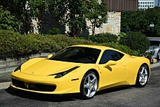 2010 Ferrari 458 Italia Coupe for sale 100788453