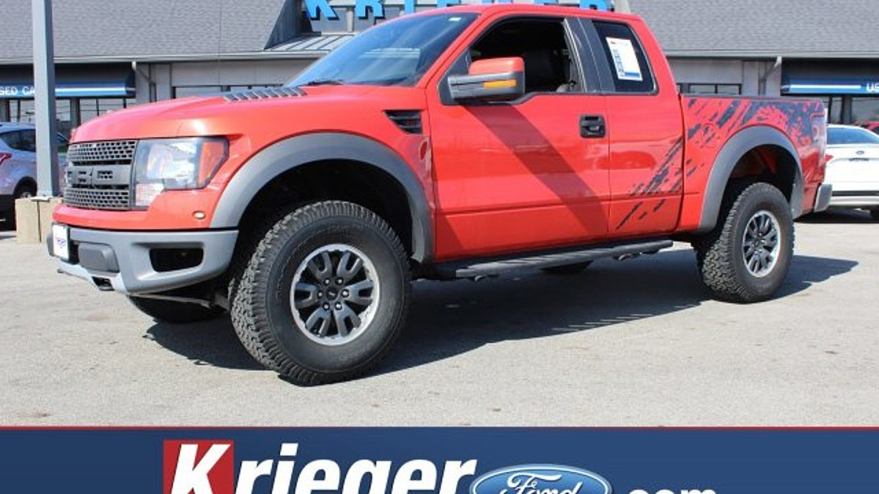 Ford ford 2010 : 2010 Ford F150 4x4 SuperCab SVT Raptor for sale near Columbus ...