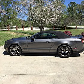 2010 Ford Mustang Shelby GT500 Convertible for sale 100759068