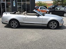 2010 Ford Mustang Convertible for sale 100891692
