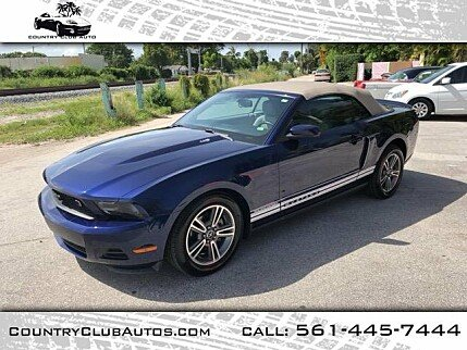 2010 Ford Mustang Convertible for sale 101003056