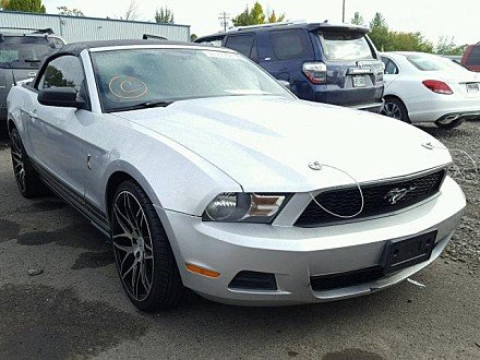 2010 Ford Mustang Convertible for sale 101030695