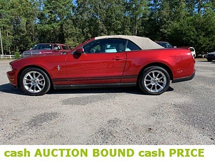 2010 Ford Mustang Convertible for sale 101037379