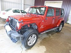 2010 Jeep Wrangler 4WD Unlimited Sahara for sale 100854048