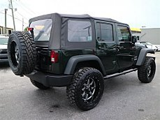 2010 Jeep Wrangler 4WD Unlimited Sport for sale 100913775
