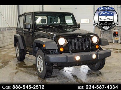2010 Jeep Wrangler 4WD Sport for sale 100925645