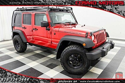 2010 Jeep Wrangler 4WD Unlimited Rubicon for sale 100942975