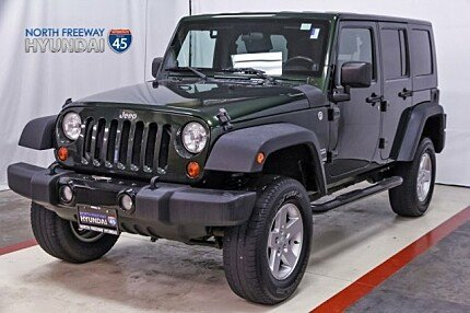 2010 Jeep Wrangler 4WD Unlimited Sport for sale 100951093