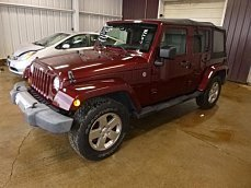 2010 Jeep Wrangler 4WD Unlimited Sahara for sale 100955988