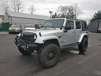 2010 Jeep Wrangler 4WD Unlimited Sahara for sale 100958314