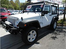2010 Jeep Wrangler 4WD Sport for sale 100976535