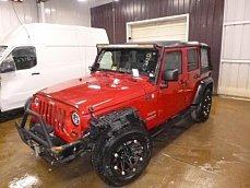 2010 Jeep Wrangler 4WD Unlimited Sport for sale 100977325