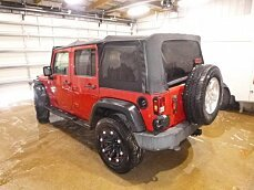2010 Jeep Wrangler 4WD Unlimited Sport for sale 100982825