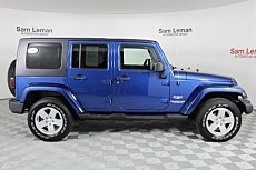 2010 Jeep Wrangler 4WD Unlimited Sahara for sale 100993225
