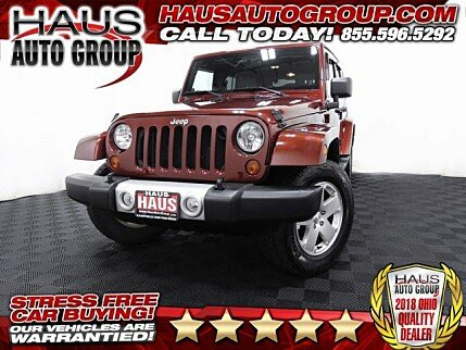 2010 Jeep Wrangler 4WD Unlimited Sahara for sale 100996265