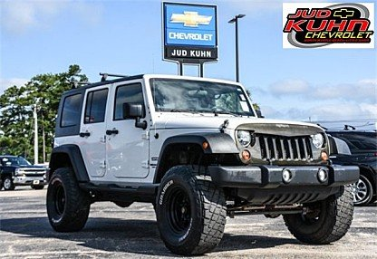 2010 Jeep Wrangler 4WD Unlimited Sport for sale 101000727