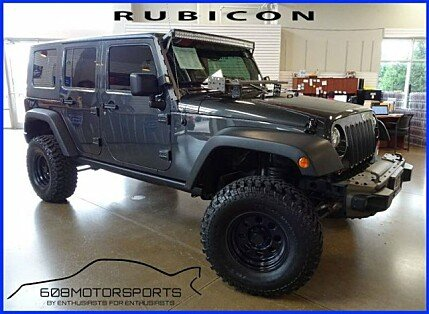 2010 Jeep Wrangler 4WD Unlimited Rubicon for sale 101008942