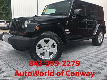 2010 Jeep Wrangler 4WD Unlimited Sahara for sale 101010029