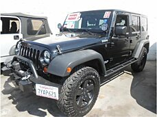 2010 Jeep Wrangler 4WD Unlimited Sport for sale 101018113