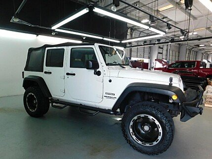 2010 Jeep Wrangler 4WD Unlimited Sport for sale 101018658