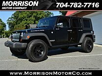 2010 Jeep Wrangler 4WD Unlimited Rubicon for sale 101020778