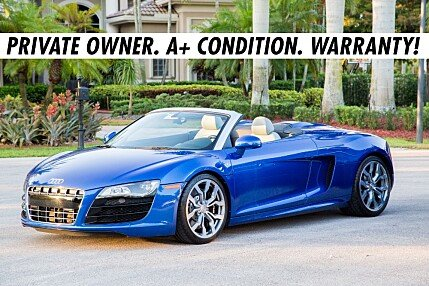 2011 Audi R8 5.2 Spyder for sale 100766649