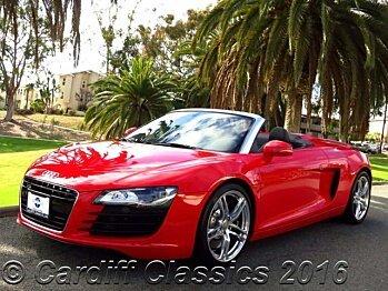 2011 Audi R8 4.2 Spyder for sale 100778280