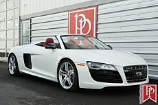 2011 Audi R8 5.2 Spyder for sale 100847596