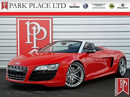 2011 Audi R8 5.2 Spyder for sale 100848679