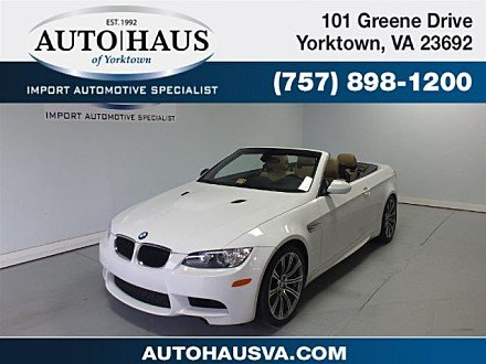 2011 BMW M3 Convertible for sale 100913362