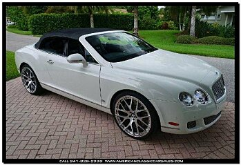 2011 Bentley Continental GTC Convertible for sale 100724163