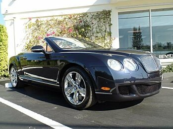 2011 Bentley Continental GTC Convertible for sale 100822611