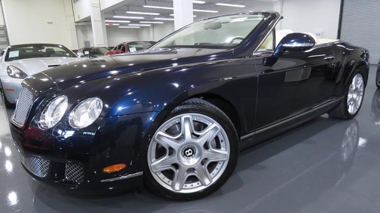 2011 Bentley Continental GTC Convertible for sale 101018335