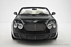 2011 Bentley Continental GTC Convertible for sale 100859729